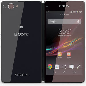 3d model sony xperia z1 compact