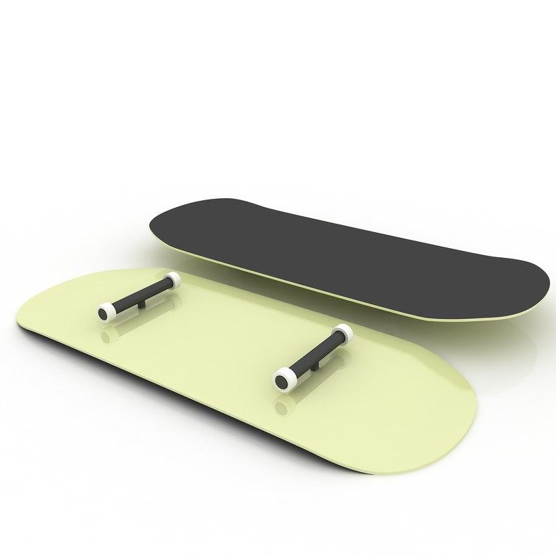 skateboard dxf