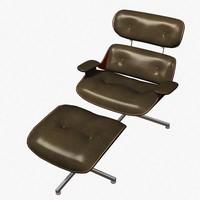 art deco chair 3d model