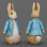 max bunny figurine