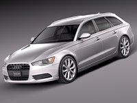 Audi A6 Avant USA 2012-2015