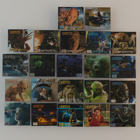 Cinefex Magazines 22 pcs