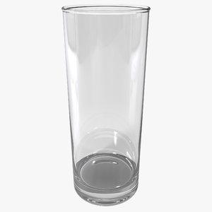 3d highball glass