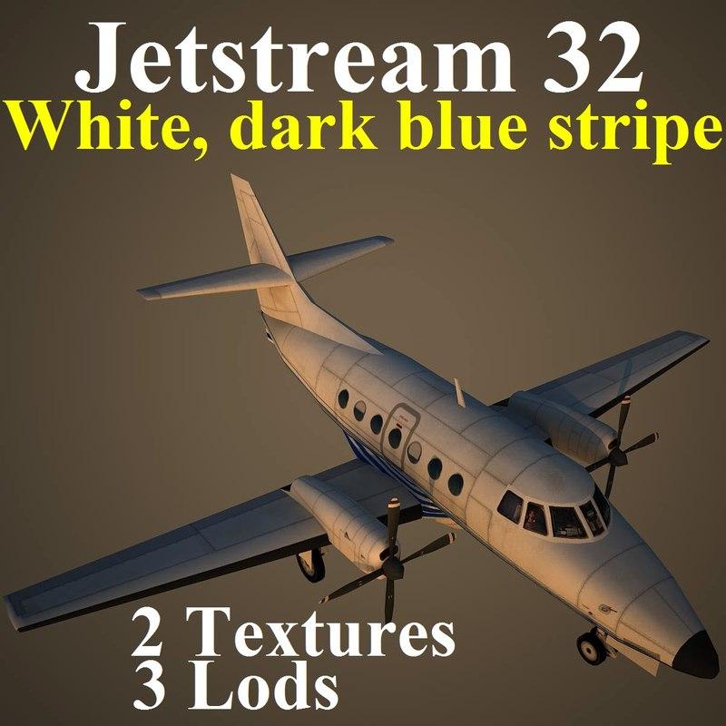 3d british aerospace 32 dbl model