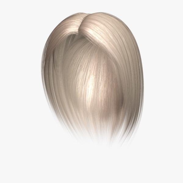 3d model elizabeth hair