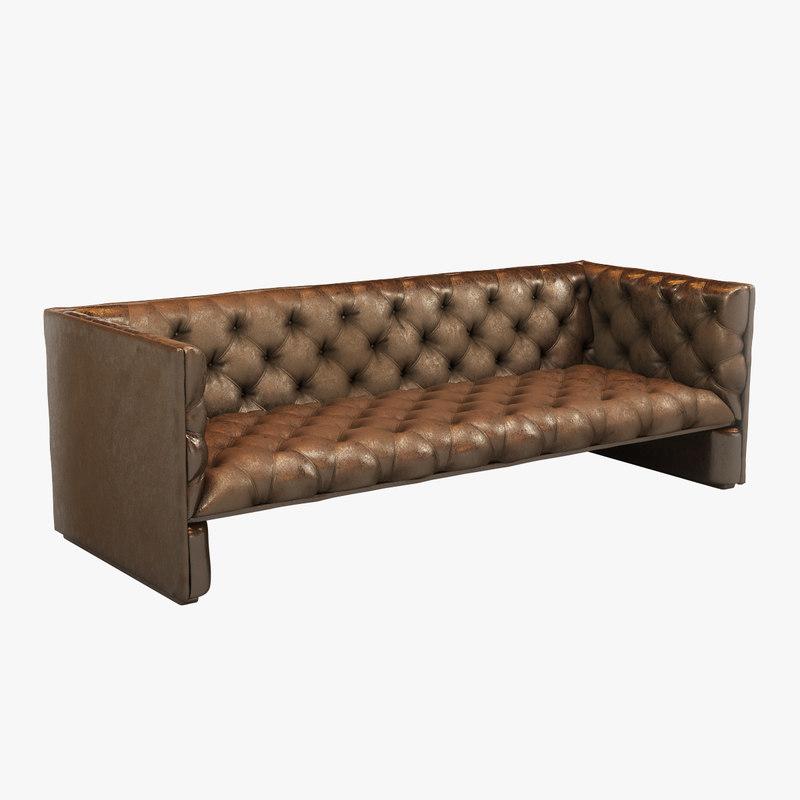 max leather sofa brown
