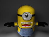 free minion 3d model
