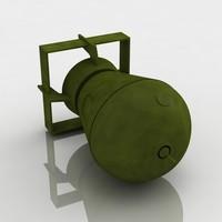 a-bomb old school 3d model