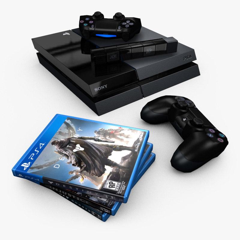 ps4 games 3d max