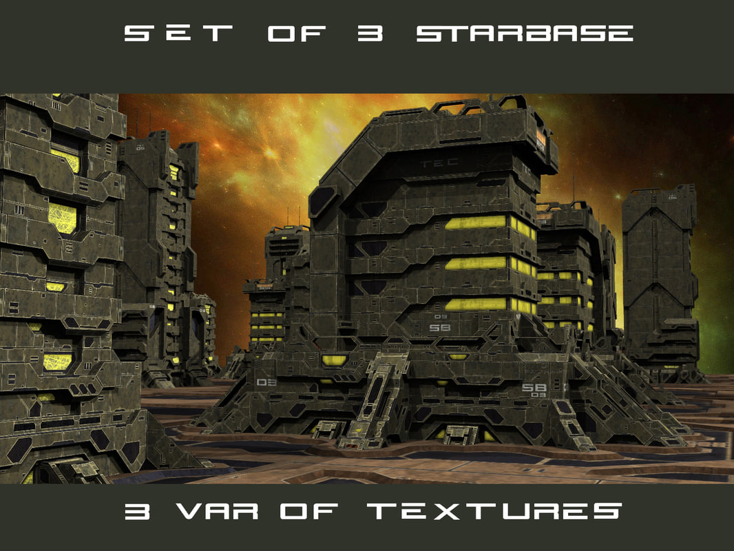 starbase building 3d max