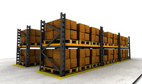 Warehouse Rack Set