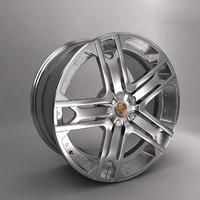porsche kahn r22 car alloy 3d max
