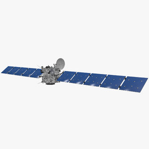 rosetta spacecraft probe 3d model