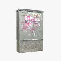 3dsmax galvanized phone junction box