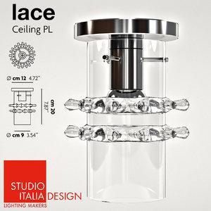 3ds max studio italia design lace