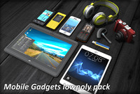 3d fbx mobile gadgets pack phone