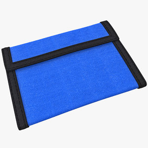wallet 3 3d model