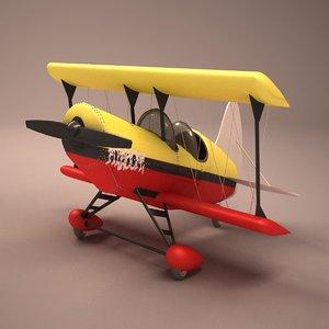 acrobatic cartoon 3d model