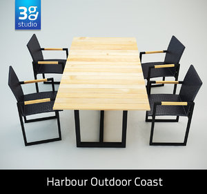 max harbour outdoor coast dining chair
