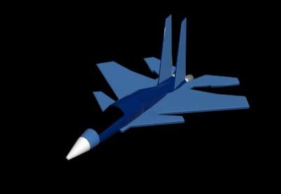 fighter plane 3d max