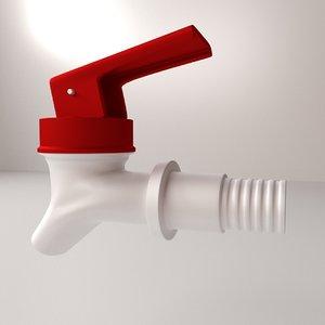 3d push tap model