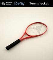 3d tennis racket