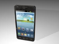 3d model smartphone phone
