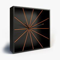 progetti 1900 wall clock 3d model
