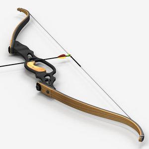 max re-curve bow arrow
