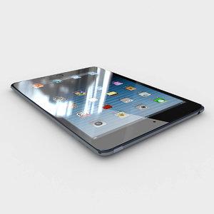 realistic apple ipad air max