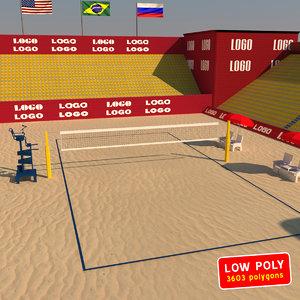 max beach volleyball