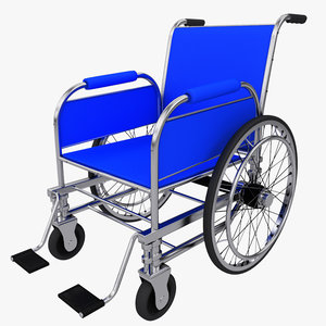 3d max wheelchair wheel chair