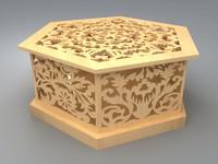 3d max wooden box