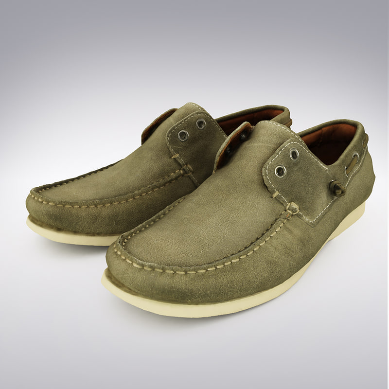 maya leather loafer shoe scanning