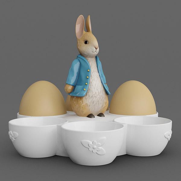 egg holder bunny max