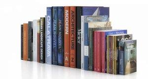 architecture design books 3d model
