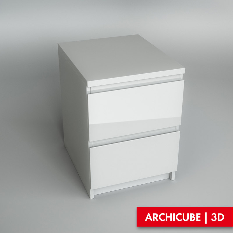 bedside table 3d model