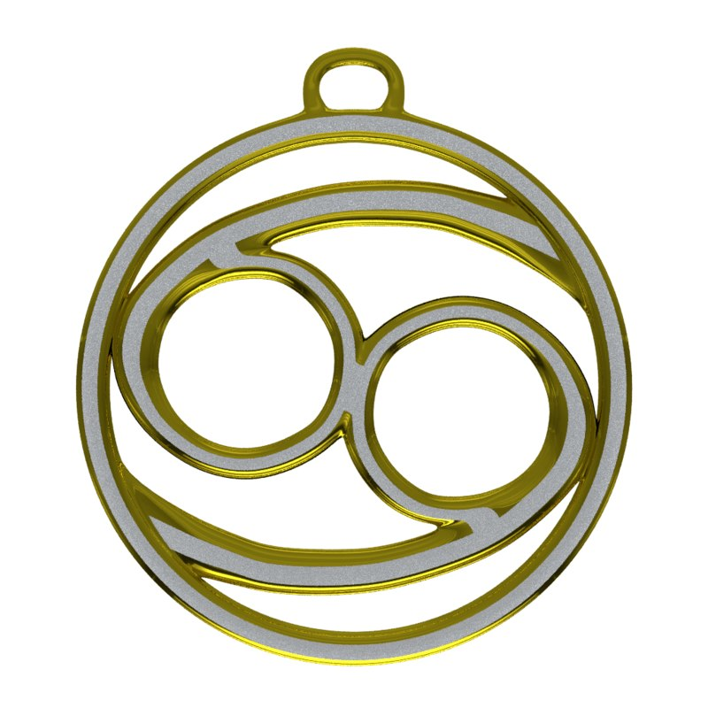 blender zodiac cancer symbol