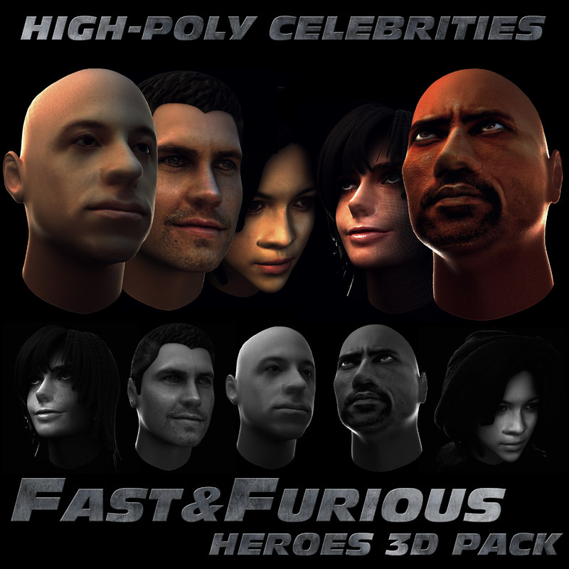 fast furious 3d max