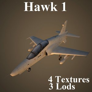 max hawk1 air low-poly