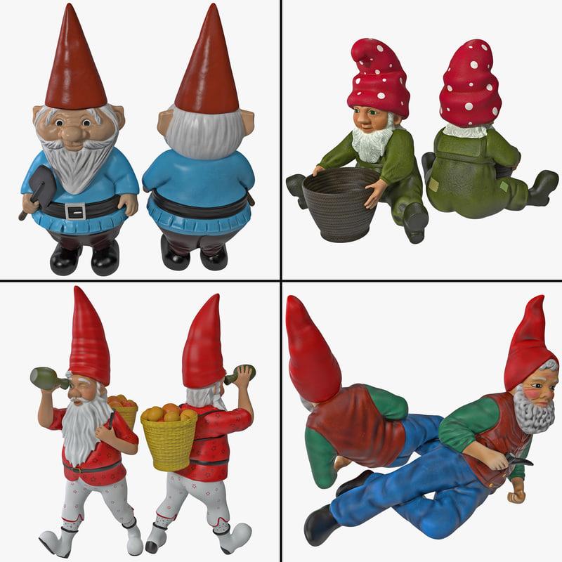 3ds max lawn gnome