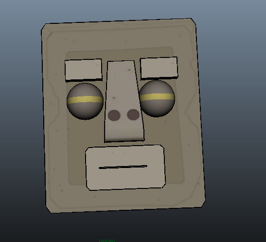 3ds max telling stone