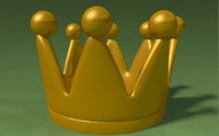 king crown 3d 3ds