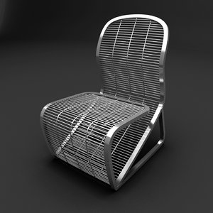steel exterior chair max