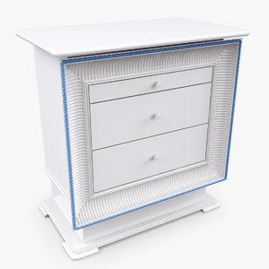 3d model altamoda willy table