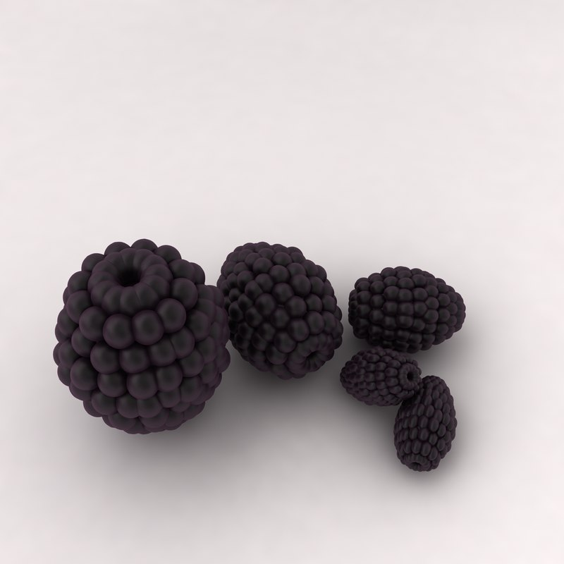 3d berry fruit