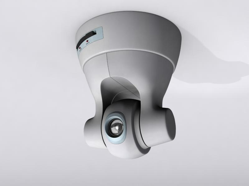 3d sony security camera cam