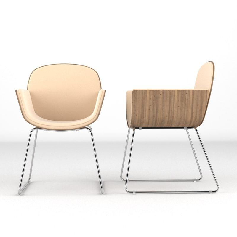 chair realistic obj