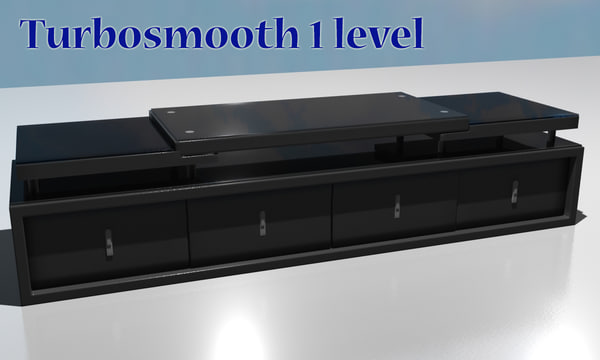 3d tv stand cabinet model