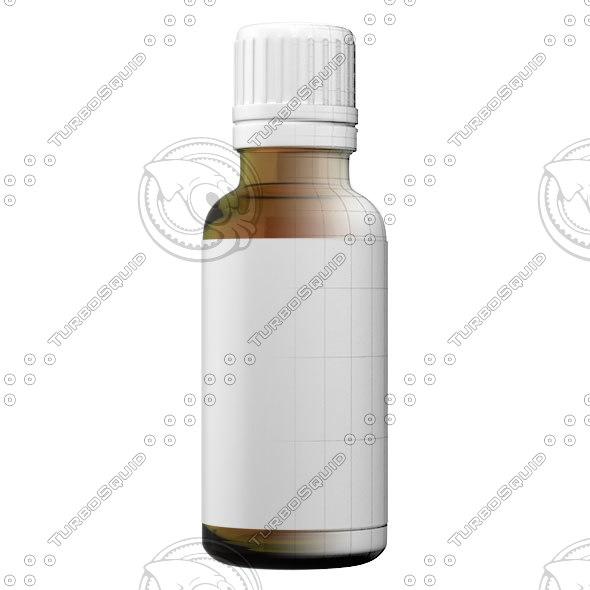 medicine bottle 3d model